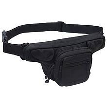 Поясная сумка для оружия DANAPER Defender City (170x350x110мм), черная
