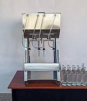 Разливочная машина для вина гравитационная.