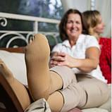Панчохи жіночі лікувальні компресійні, з закритим носком І компресія, фото 5