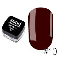 Гель-фарба OXXI Professional № 10 (5 г)