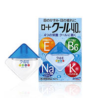 ROHTO Vita Cool 40-alfa Японские мультивитаминные глазные капли (12 мл)