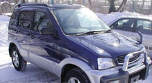 Ветровики Daihatsu Terios I 1997-2012/ Toyota Cami (J102) 2000-2006 Cobra Tuning