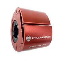 Тримач телефону Cyclingbox CB-683 на кермо, алюмінієвий, червоний