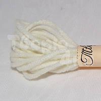 Нить декоративная хлопковая 1,5 мм молочная