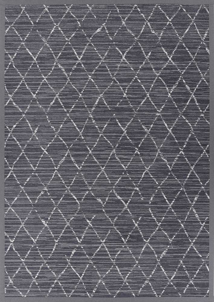 Килим двосторонній Narma Vao 160х230 см Темно-сірий