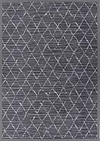Килим двосторонній Narma Vao 160х230 см Темно-сірий, фото 1
