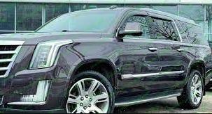 Ветровики Cadillac Escalade IV 2015 Cobra Tuning