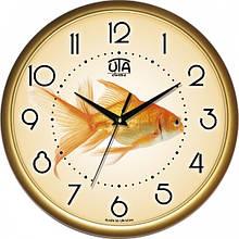 Настенные Часы Сlassic Золотая Рыбка Gold