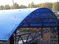 Навесы пристроенные к дому из поликарбоната