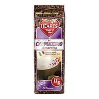 Капуччино Hearts Cappuccino Amaretto Упаковка 1 кг 80 порций