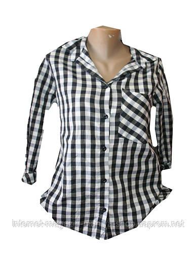 Женская рубашка батал оптом