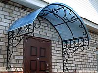 Строительство металлического навеса