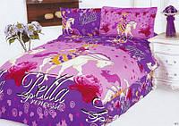 Детское постельное бельё полуторное  Le Vele сатин Bella