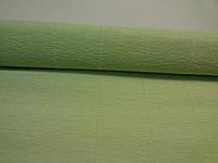 Гофрированная бумага светло-зеленая Италия, фото 1