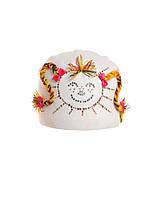"""Веселая и оригинальная шапочка для девочки """" Пепи"""""""