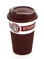 Керамический стакан (чашка) Starbucks Brown, фото 2