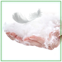 Одеяла пухо-перовые