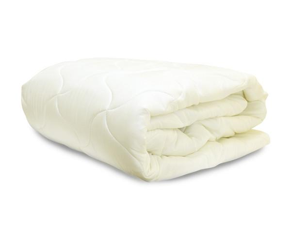 Одеяло силиконовое размер 145х210 см микрофибра плотность наполнителя 200 г/м.кв. Art Point Бежевое