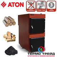 Твердотопливный котел Аton ТТК Energy 12 кВт