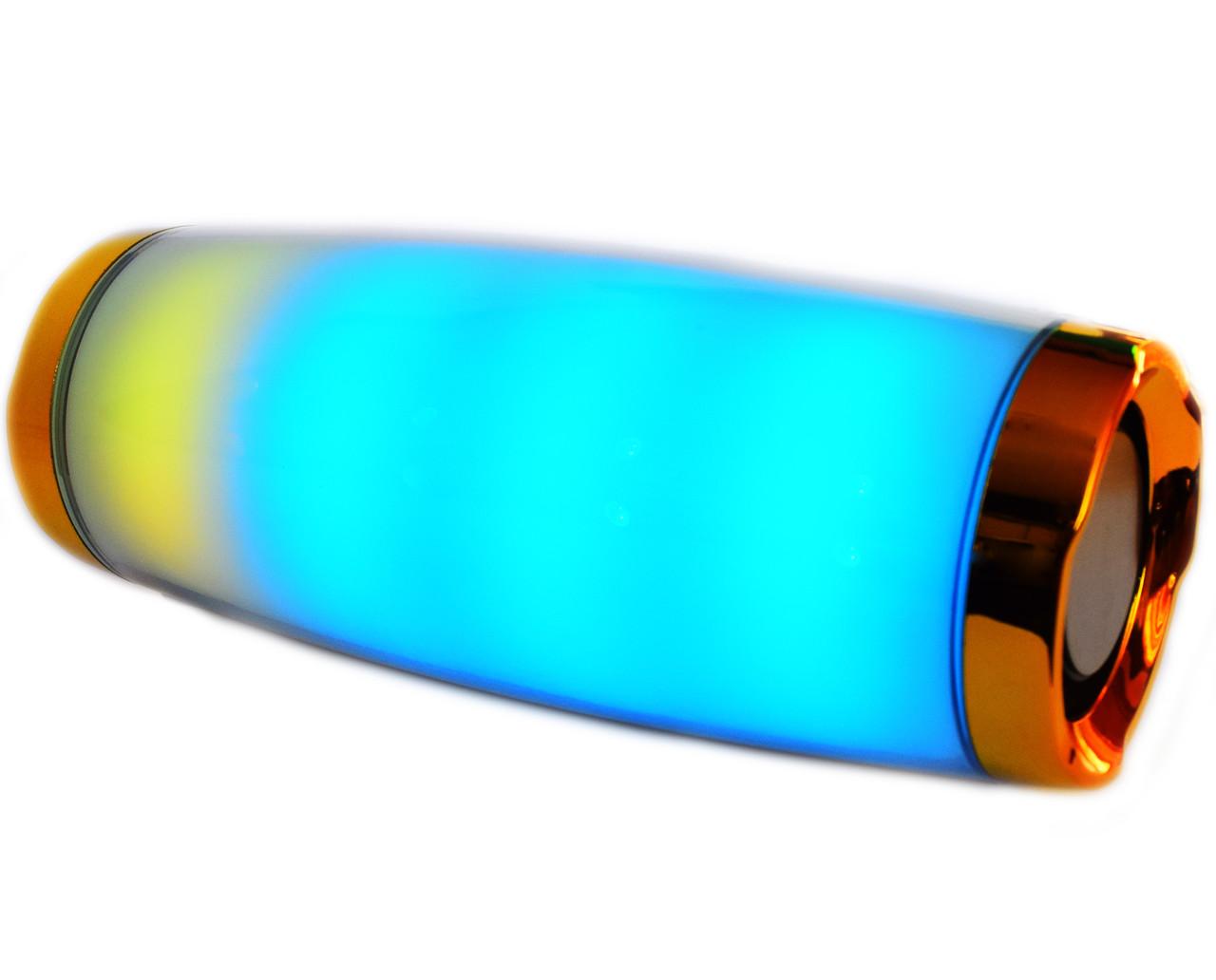 Портативная беспроводная стерео колонка T&G E11 со цветомузыкой