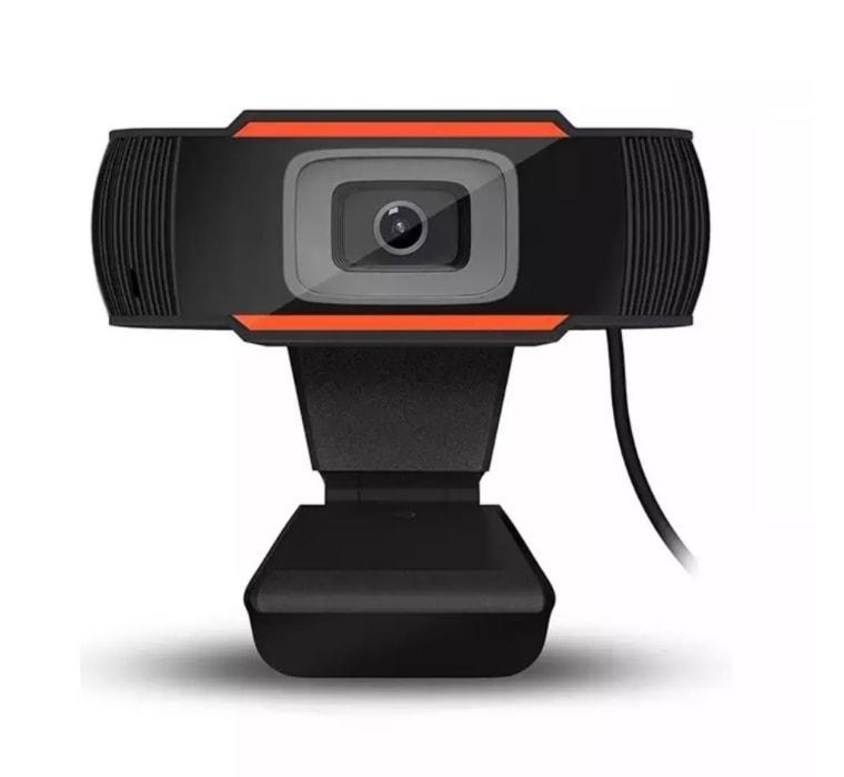 Веб-камера з мікрофоном для віддаленої роботи Merlion 480P Web Camera Black