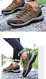 Кросівки/черевики чоловічі чорні осінь Dskchloe, фото 3