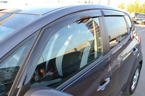 Ветровики BMW X5 (G05) 2018 Cobra Tuning