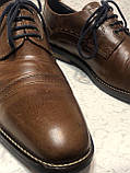 Чоловічі шкіряні туфлі 43 розміру, фото 2
