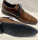 Чоловічі шкіряні туфлі 43 розміру, фото 3