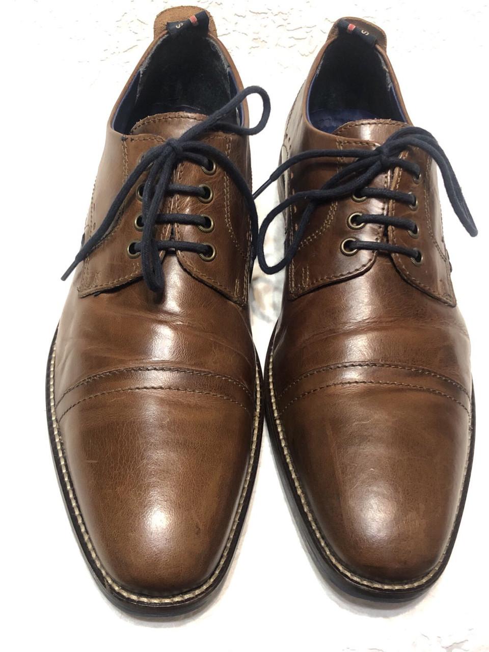 Чоловічі шкіряні туфлі 43 розміру