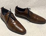 Чоловічі шкіряні туфлі 43 розміру, фото 8