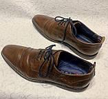 Чоловічі шкіряні туфлі 43 розміру, фото 6