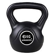 Гиря спортивна (тренувальна) Springos 6 кг FA1002