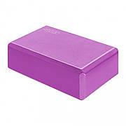 Блок для йоги 4FIZJO 4FJ0232 Pink