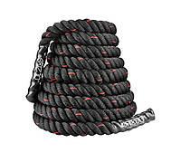 Канат тренувальний 4FIZJO Battle Rope 15 м для кроссфита 4FJ0242