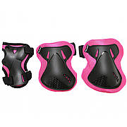 Комплект захисний SportVida SV-KY0006-L Size L Black/Pink
