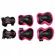 Комплект захисний SportVida SV-KY0006-L Size L Black/Pink, фото 2
