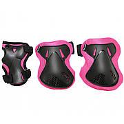 Комплект защитный SportVida SV-KY0006-M Size M Black/Pink