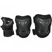 Комплект защитный SportVida SV-KY0003-M Size M Black/Blue