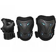 Комплект защитный SportVida SV-KY0003-S Size S Black/Blue