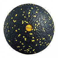 Массажный мяч 4FIZJO EPP Ball 12 4FJ0057 Black/Yellow