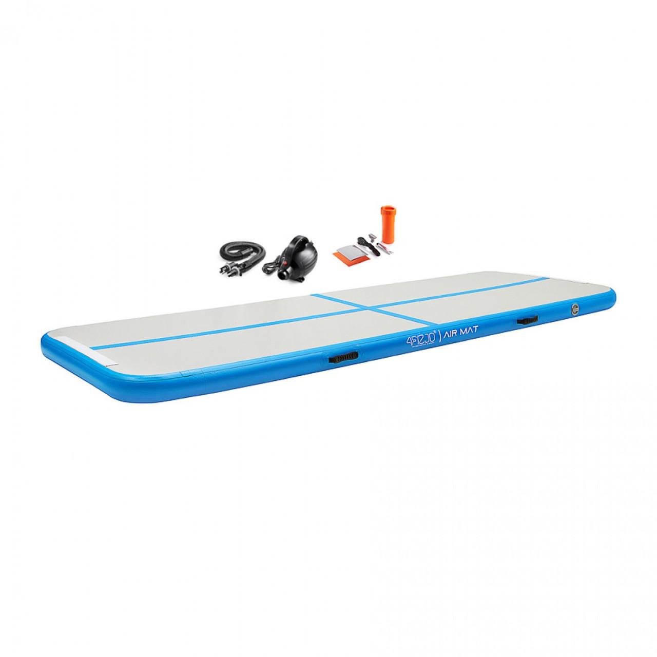 Мат гімнастичний надувний 4FIZJO Air Track Mat 300 x 100 x 10 см 4FJ0091