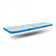 Мат гімнастичний надувний 4FIZJO Air Track Mat 300 x 100 x 10 см 4FJ0091, фото 2