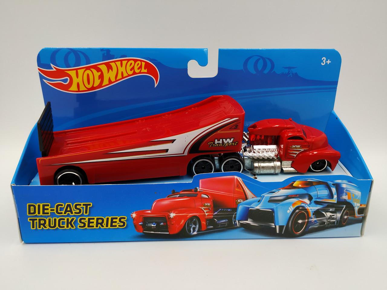 Модель трейлер Hot Wheels T900-1-6 метал.6в.кор.21,5*6,5*11,5 /96/