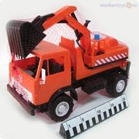 Машинка игрушка Камаз Экскаватор 40,5*19,5*26,5 см  495