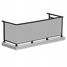 Ширма для балкона (балконный занавес) Springos 0.8 x 5 м BN1014 Grey, фото 3