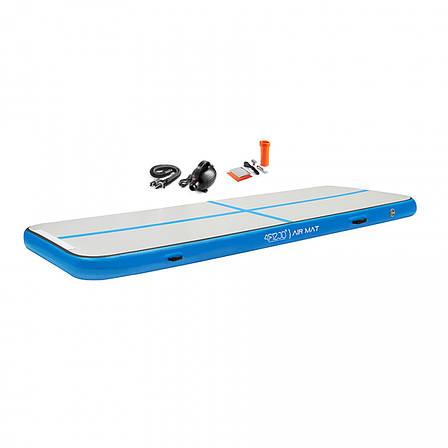 Мат гимнастический надувной 4FIZJO Air Track Mat 300 x 100 x 20 см 4FJ0172, фото 2