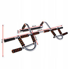 Турнік-тренажер багатофункціональний Springos Iron Gym Pro FA0013, фото 3