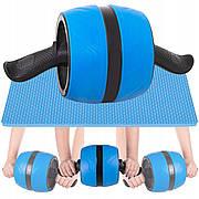 Ролик (колесо) для преса з поворотним механізмом Springos AB Wheel FA5000 Blue/Black