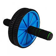 Ролик (гімнастичне колесо) для преса Sportcraft ES0002 Blue